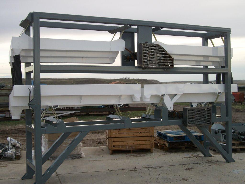 Twelve Chamber Vibratory Conveyor