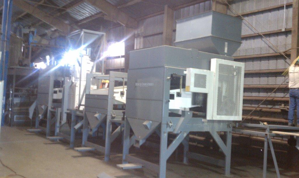 Pea Processing Plant