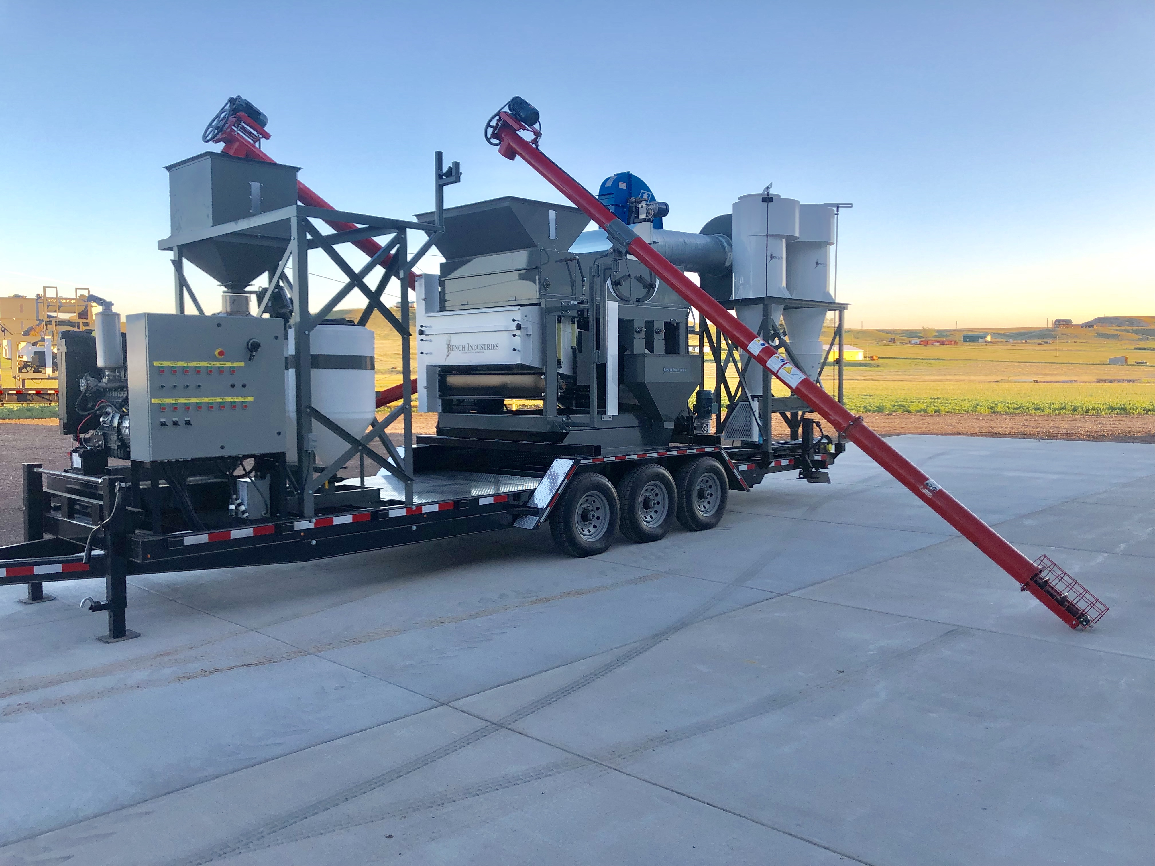 Custom Grain Cleaning, Seed Cleaning Equipment